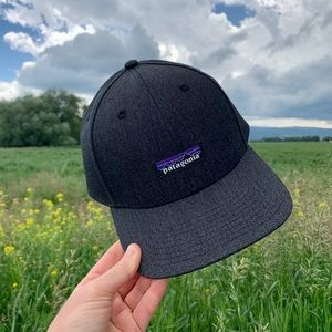NWT Patagonia Hemp Logo Hat - Black